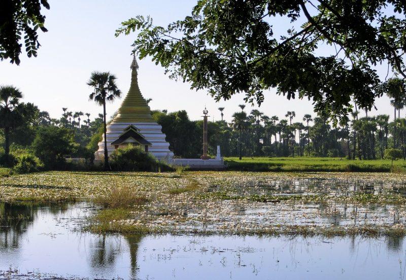 Myanmar Urlaub Kosten auf Ausflug zum Bagaya Kloster
