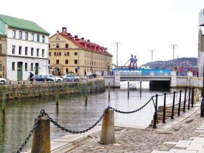 Göteborg Sehenswürdigkeiten Innenstadt mit Kanal