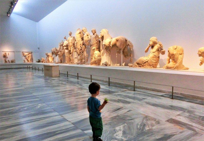 Museum bei den olympischen Stätten auf dem Peloponnes