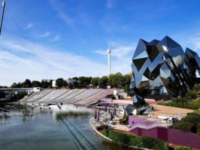 Futuroscope Freizeitpark in Frankreich bei Poitiers