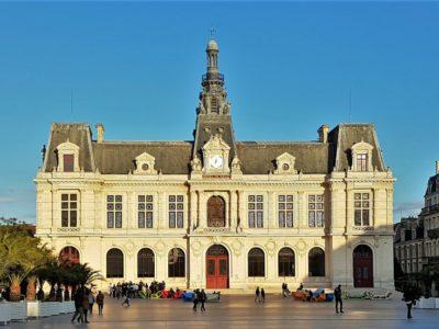Rathaus Hotel de Ville Poitiers