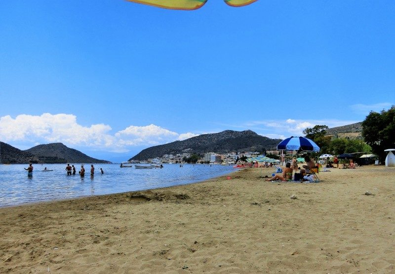Tolo Strand auf dem Peloponnes