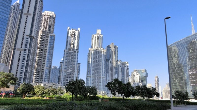 Dubai mit Kind in Downtown Business Bay