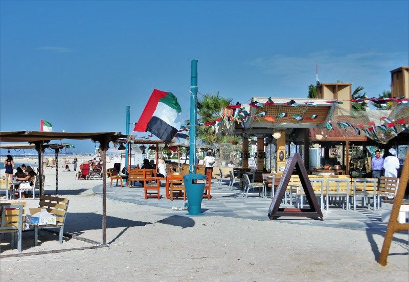Jumeirah Beach Strandcafe