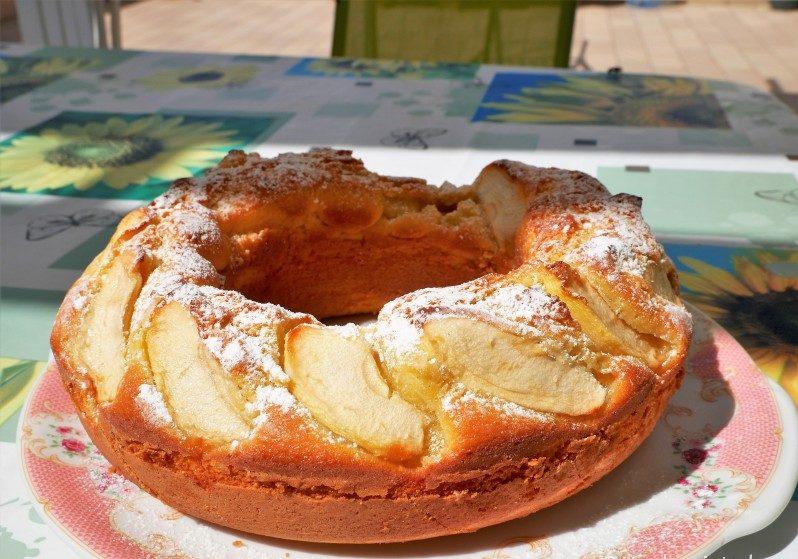 Apfelkuchen Sizilien