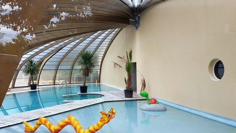 Glamping in Frankreich auf Flower Camping Bimbo mit Pool