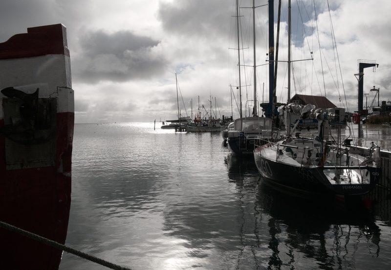 Besuch vom Fehmarn Hafen auf einem Ausflug von Heiligenhafen mit Kindern