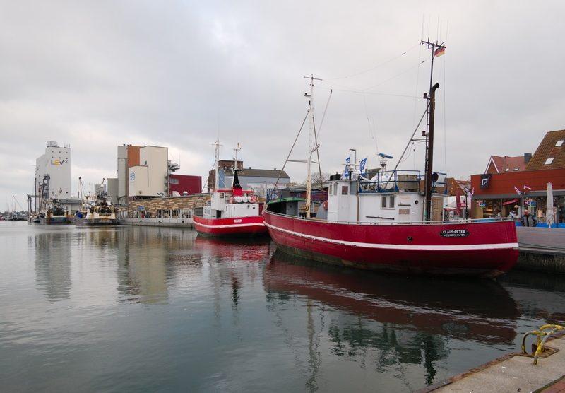 Der Fischereihafen in Heiligenhafen im Familienurlaub an der Ostsee