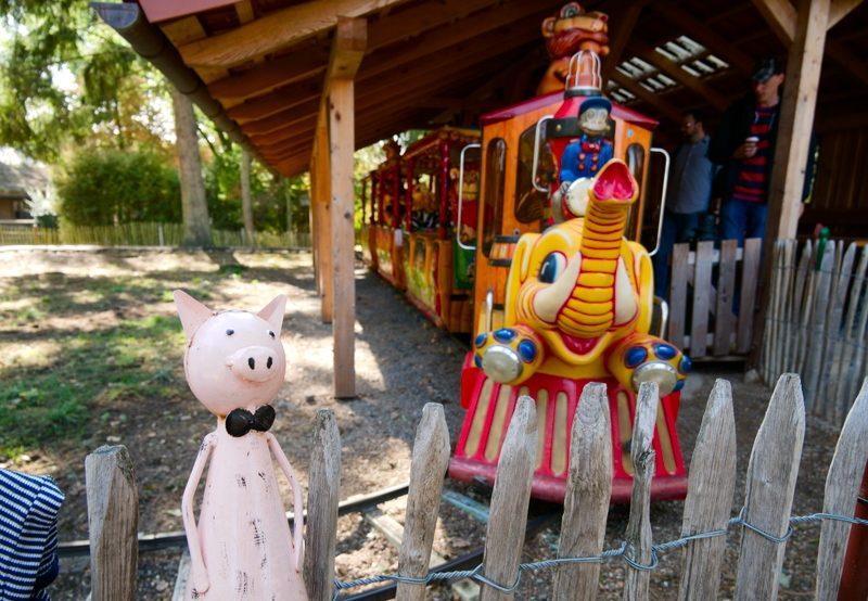 Elektrische Eisenbahn im Tierpark Essehof