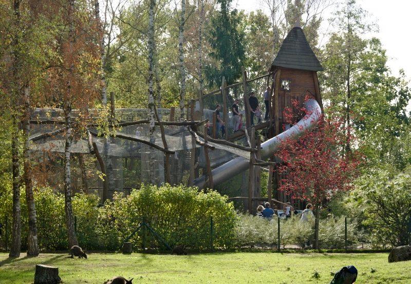 Rutschenturm im Tierpark Essehof