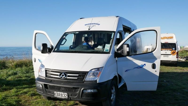 Erfahrung mit Wendekreisen Camper Koru Star 2 ST in Neuseeland