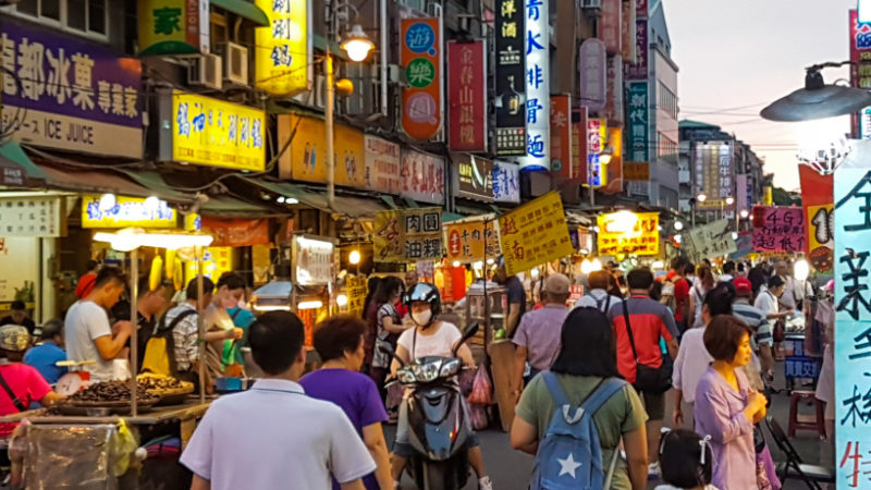 Taiwan Nachtmarkt