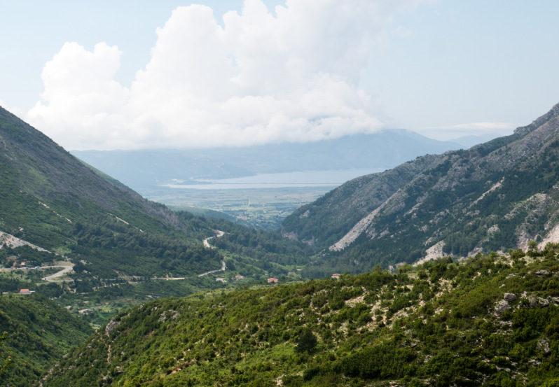 Albanien Urlaub an der Küste Radhime Orikum