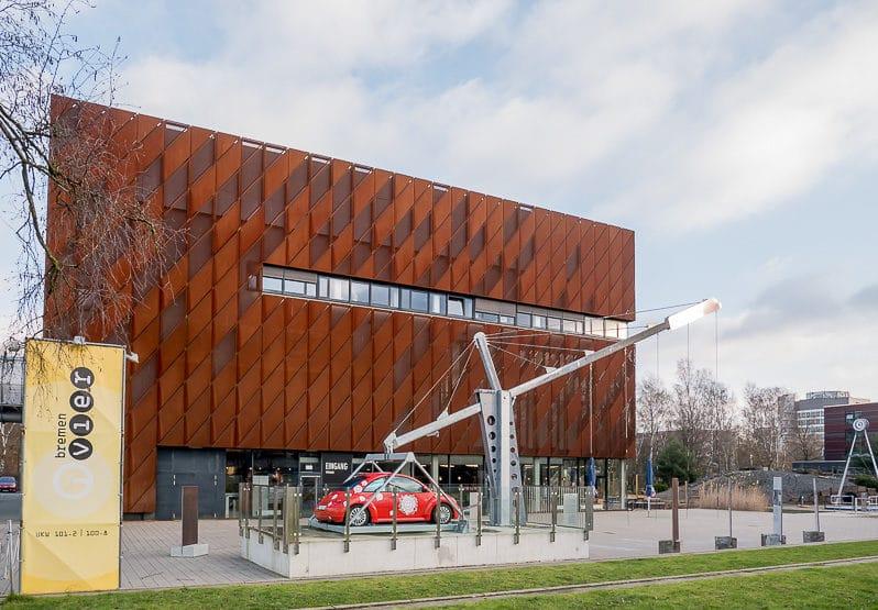 Haupteingang vom Universum Bremen
