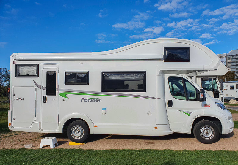 Familien Wohnmobil Family F4 Plus Forster A699VB von DRM