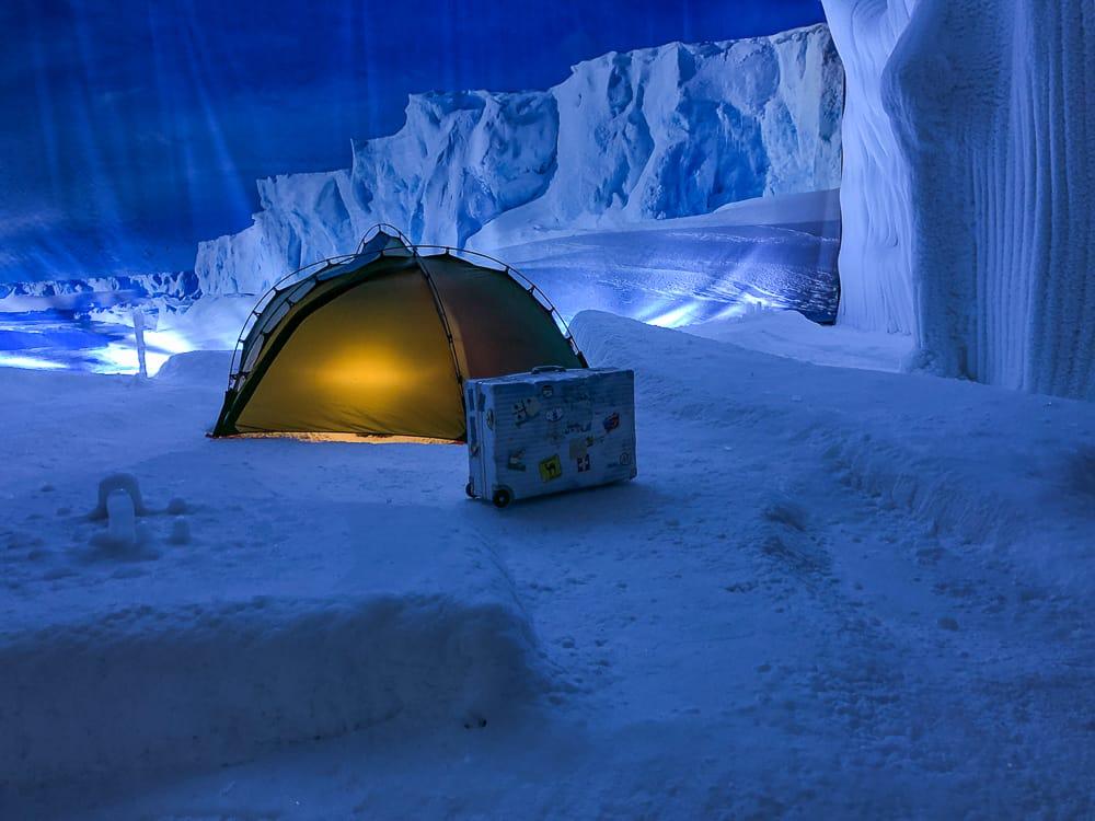 In der Antarktis im Klimahaus Bremerhaven