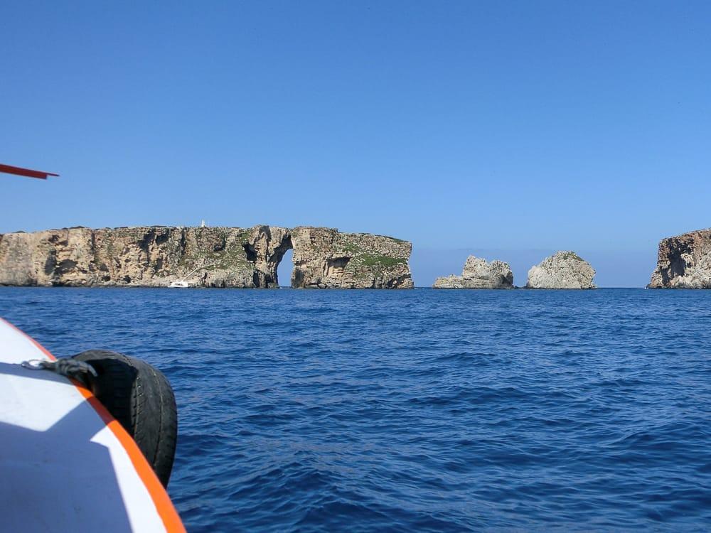 Bootstour zur Navarino Bucht Peloponnes