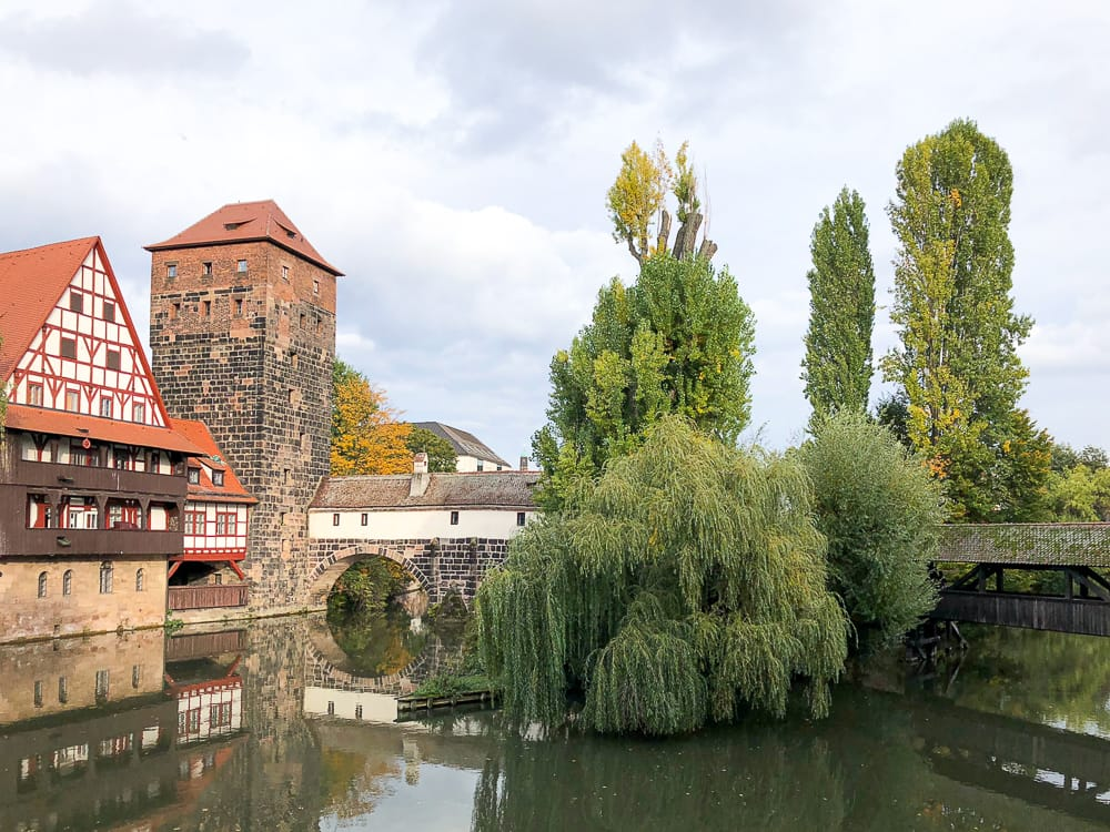 Sehenswürdigkeiten auf der Stadtrundfahrt in Nürnberg mit Bimmelbahn