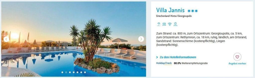 Villa Jannis Kreta