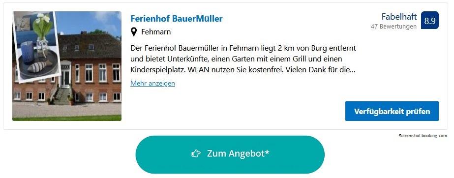 Bauernhofurlaub Ostsee BauerMüller