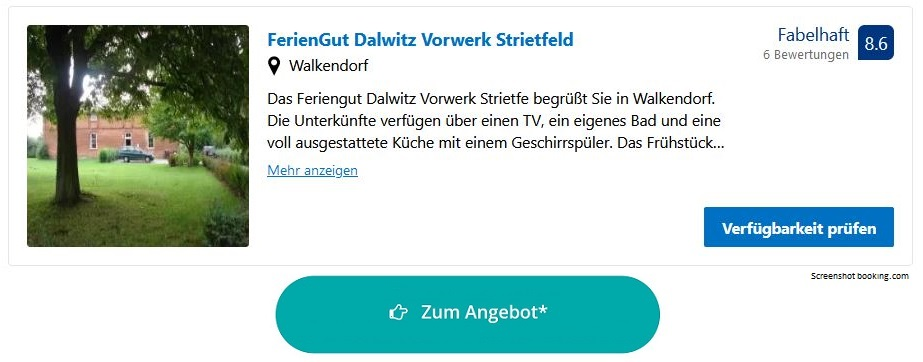Bauernhofurlaub Ostsee FerienGut Dalwitz