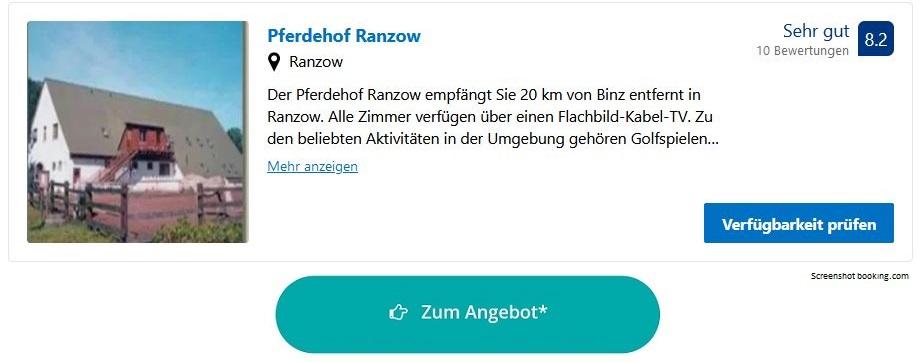 Bauernhofurlaub Ostsee Pferdehof Ranzow