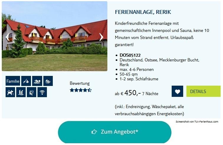 Ferienpark Ostsee Ferienanlage Rerik