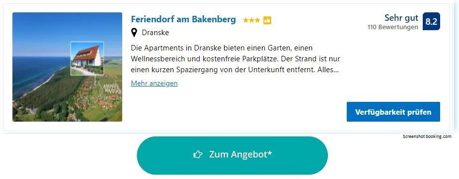 Ferienpark Ostsee Feriendorf am Bakenberg
