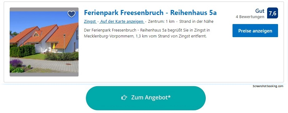 Ferienpark Ostsee Freesenbruch Zingst