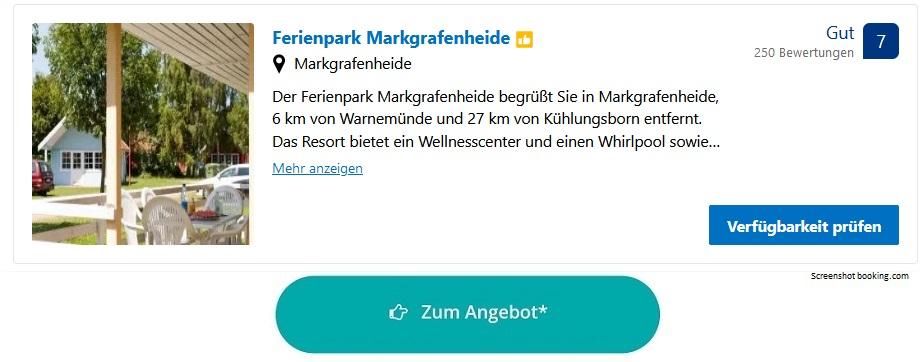 Ferienpark Ostsee Markgrafenheide