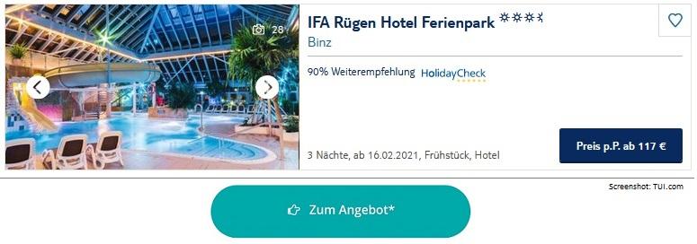 Ferienpark Ostsee IFA Rügen