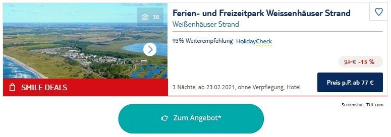 Ferienpark Ostsee Weissenhäuser Strand