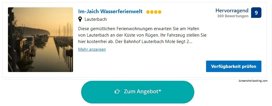 Im-Jaich Wasserferienwelt Ferienpark Ostsee Mecklenburg-Vorpommern