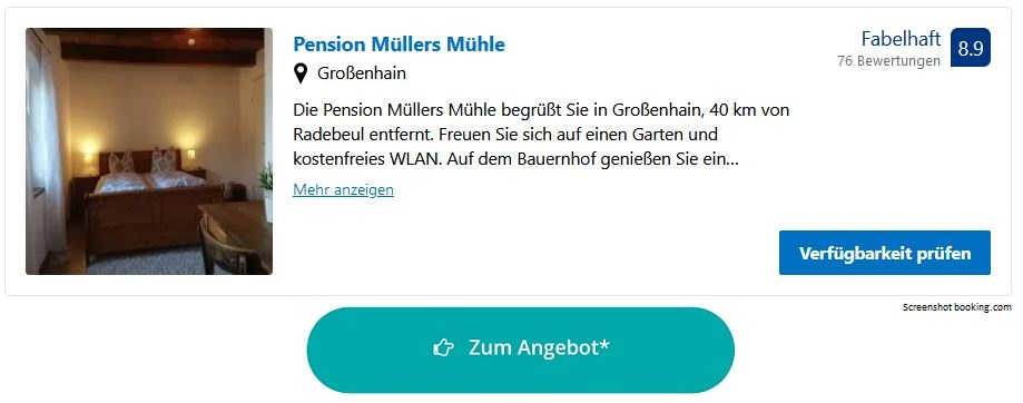 Bauernhofurlaub Sachsen Pension Müllers Mühle