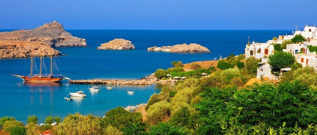 Rhodos Bucht von Lindos
