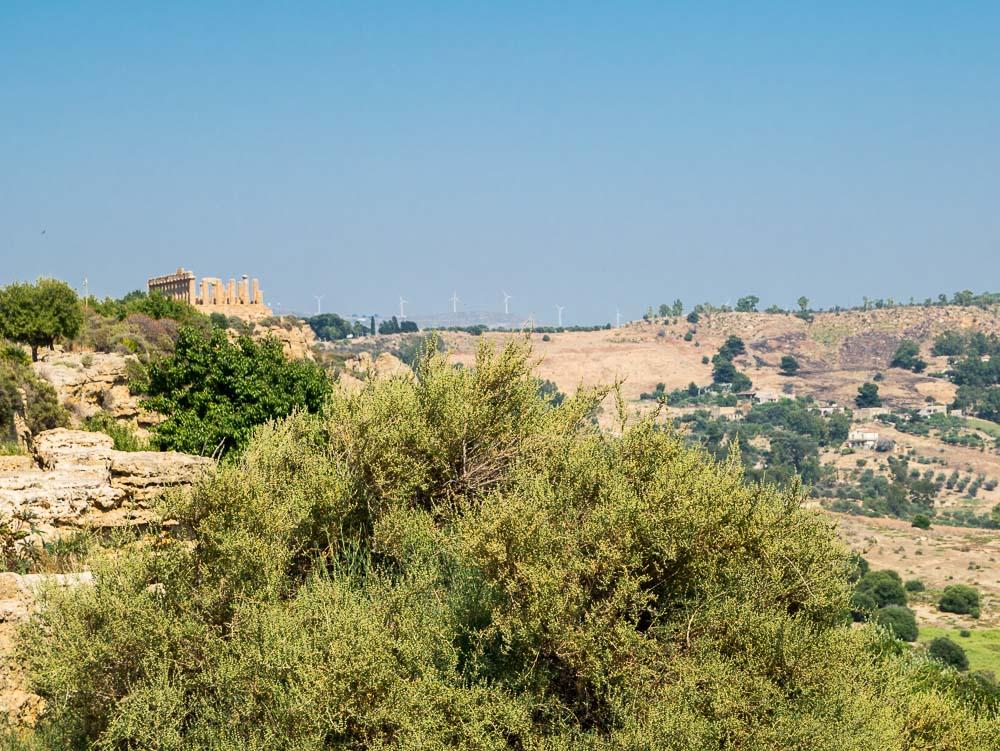 Agrigento Sizilien Tal der Tempel Agrigent Heratempel