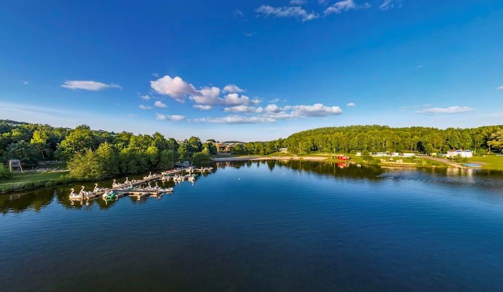 Blick auf den See © Center Parcs Park Bostalsee