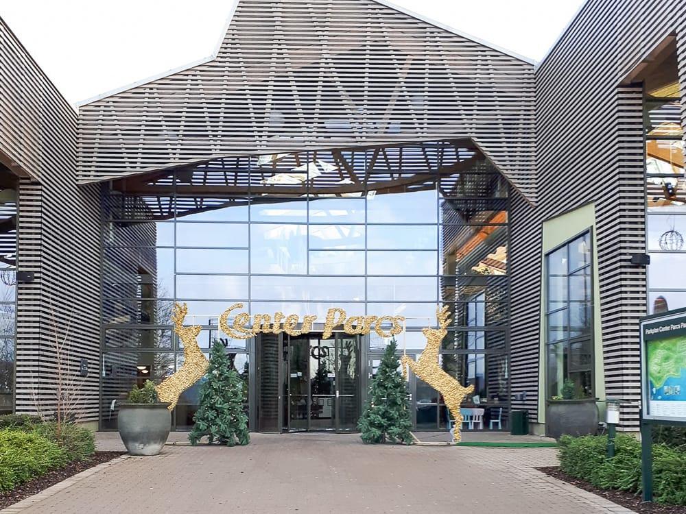 Eingang vom Center Parcs Park Bostalsee © Monika Friedrich