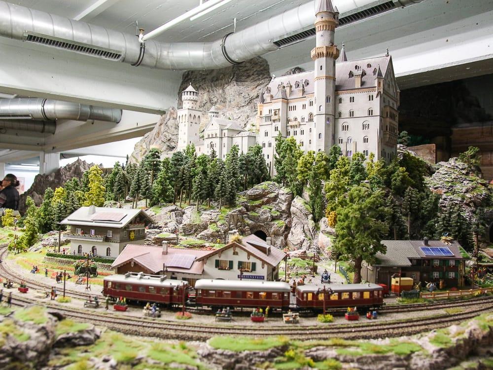 Schloss Neuschwanstein im Miniatur Wunderland