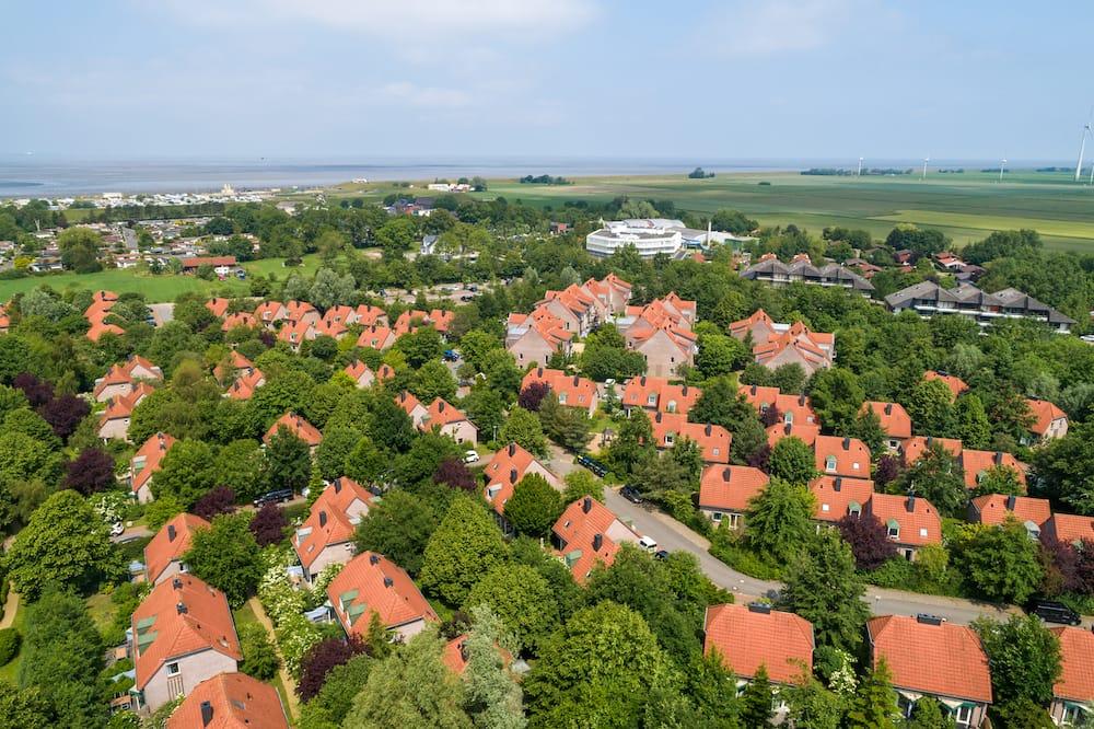 Das Gelände vom Center Parcs Nordseeküste in Tossens © CenterParcs