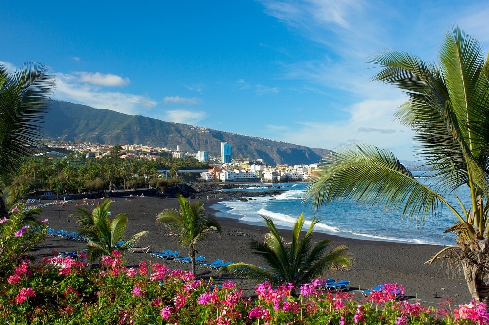 Playa Jardin und Ferienpark Eden Teneriffa liegen in Puerto de la Cruz