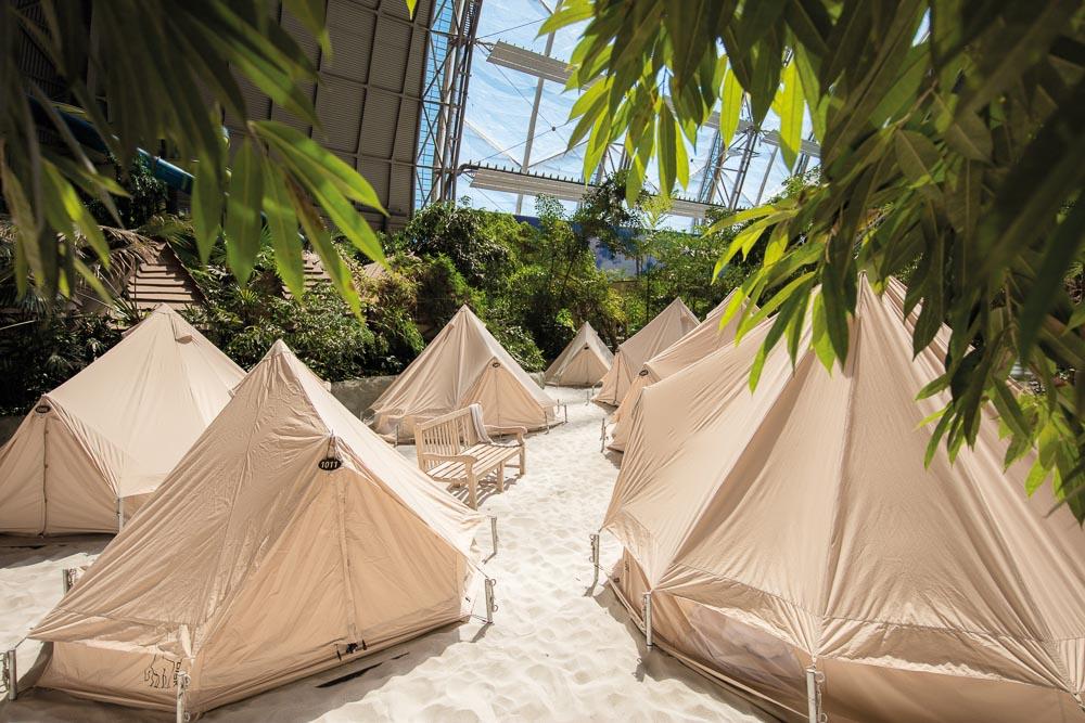 Camping im Safarizelt mit Tropical Islands Angebote