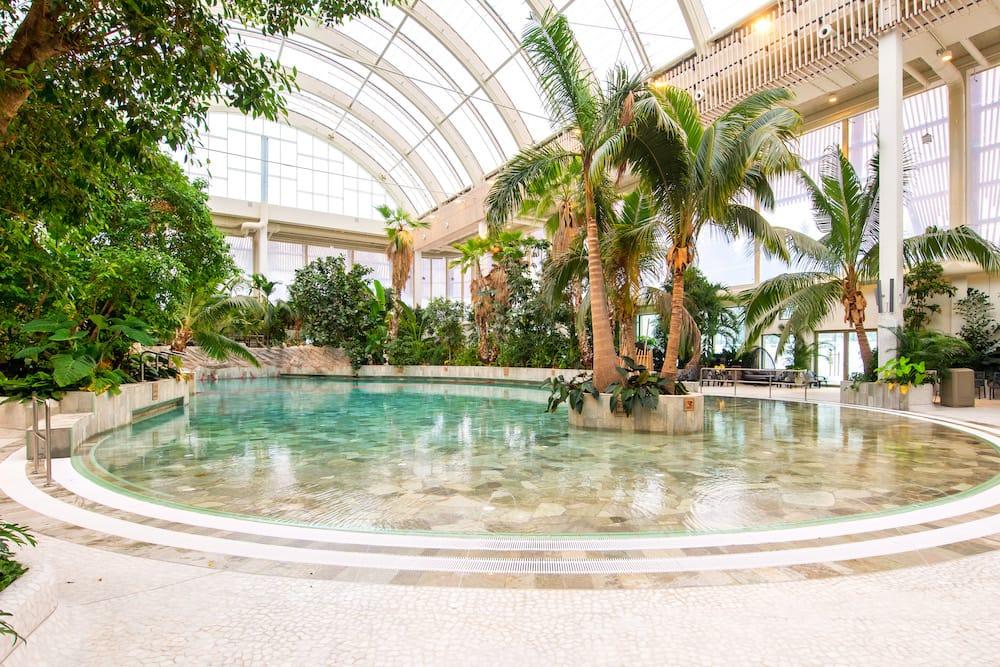 Das Center Parcs Allgäu Erlebnisbad Aqua Mundo