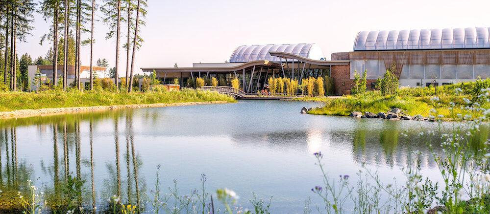 Die Anlage vom Center Parcs Allgäu