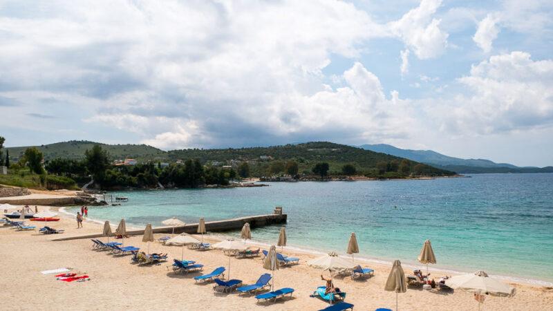 Vila Cerca de Mar Ksamil Albanien Strand 9