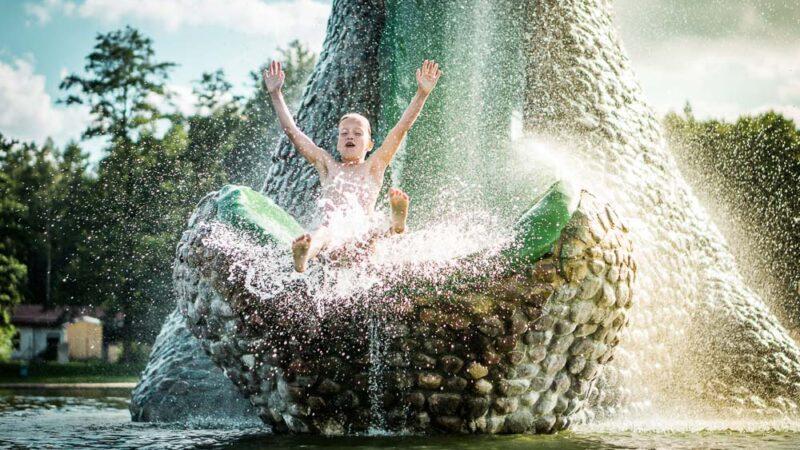 Trixi Ferienpark Wasserrutsche