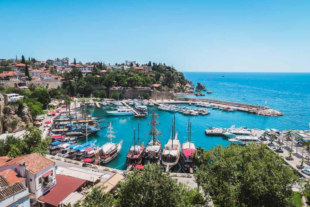 Antalya Yachthafen in Kaleici
