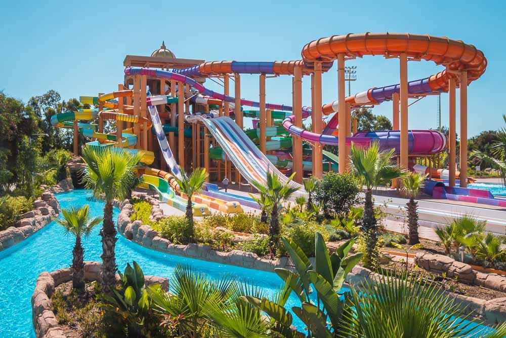 Aquapark im Delphin BE Grand Hotel Antalya
