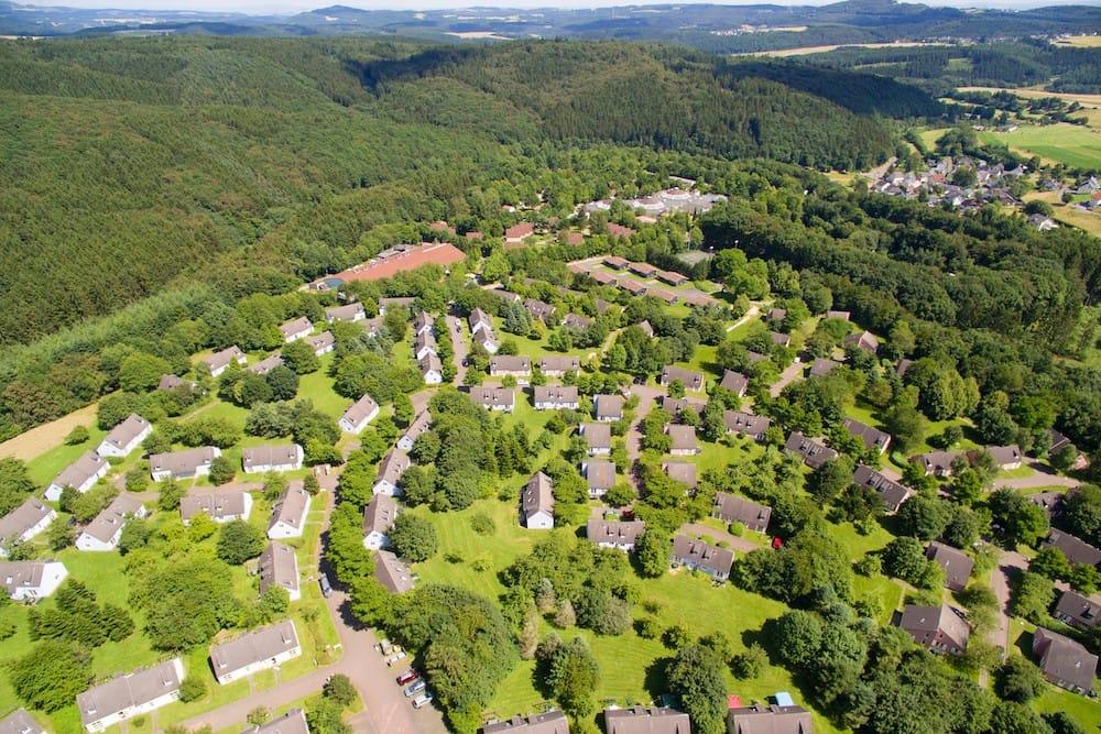 Überblick und Plan vom Center Parcs Eifel
