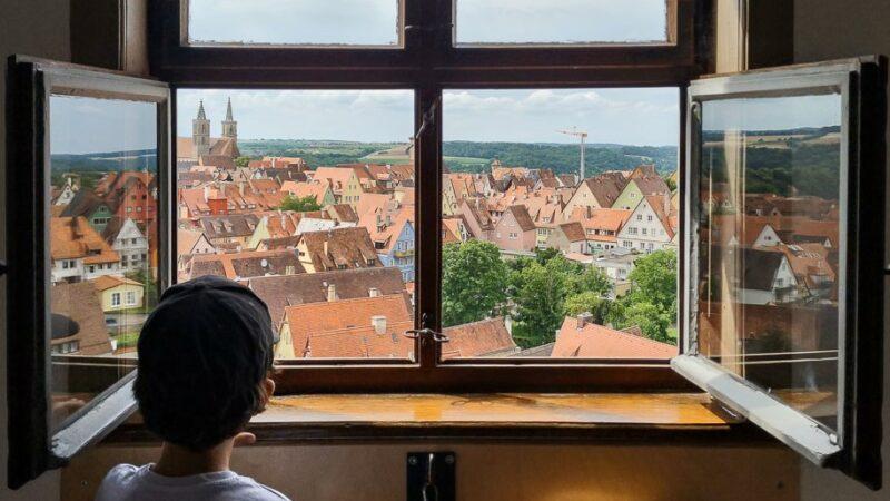 Rothenburg ob der Tauber Sehenswürdigkeiten Aussicht